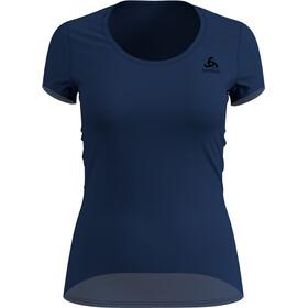 Odlo Suw Active F-Dry Light T-shirt à col ras-du-cou Femme, estate blue